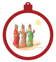 Three Wise Men Ornament