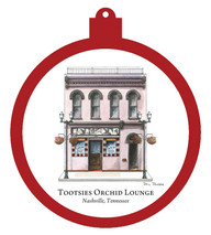 Tootsie's Orchid Lounge - Nashville Ornament