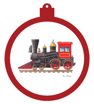 Toy Train Ornament