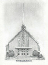 Andrew Price Methodist Church 5x7 print