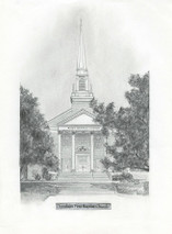 Donelson First Baptist Church 5x7 print
