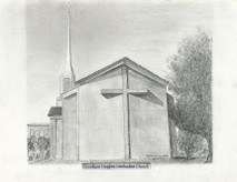 Donelson Heights Methodist Church 7x5 print