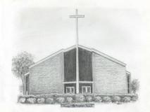 Lincoya Hills Baptist Church 7x5 print