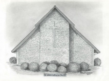 St John's Lutheran Church 7x5 print