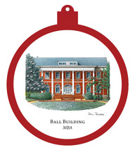 Ball Building - Montgomery Bell Academy Ornament
