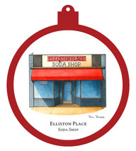 Elliston Place Soda Shop Ornament