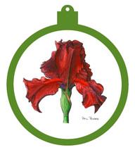 Iris - Inferno Ornament