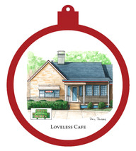Loveless Cafe Ornament