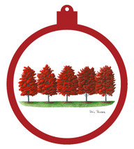 Red Maples Ornament