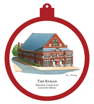 The Ryman - Mother Church of Country Music Ornament