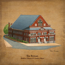 Wood Ryman - Mother Church of Country Music
