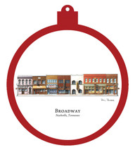 Broadway Ornament