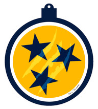 Predators Tri-Star Ornament