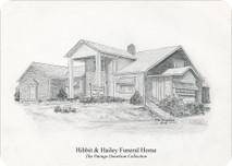 Hibbitt & Hailey Funeral Home 7x5 print