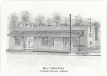 Billy's Shoe Shop 7x5 print