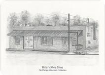 Billy's Shoe Shop 7x5 print