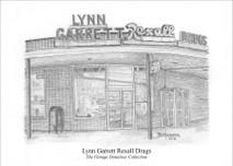 Lynn Garrett Rexall Drug 7x5 print