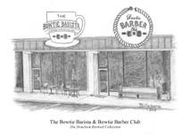 Bowtie Barista & Bowtie Barber Club 5x7 print