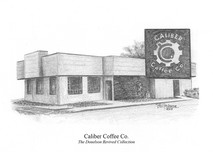Caliber Coffee Company 5x7 print