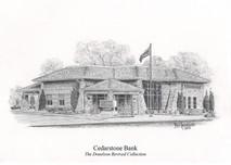 Cedarstone Bank 5x7 print