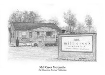 Mill Creek Mercantile 5x7 print