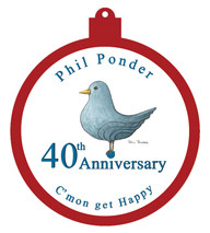 40th Anniversary - Happy Ornament