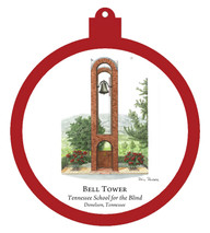 Bell Tower - Tennessee School for the Blind Ornament