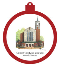 Christ the King Church Ornament