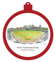 First Tennessee Park Ornament