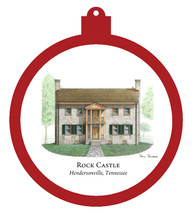 Rock Castle - Hendersonville,Tennessee Ornament