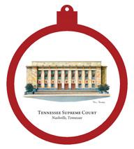 Supreme Court Building - Nashville,Tennessee Ornament