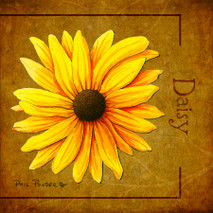 Wood Flower - Daisy
