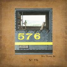 Wood No.576 Train Detail 1