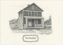 The Haskell 5x7 The Old Hickory Village