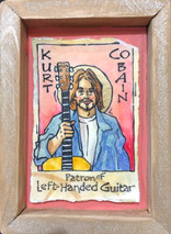 RJ - Patron of Left -Handed Guitar