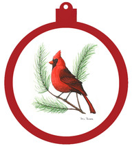 PP - Ornament Christmas Cardinal