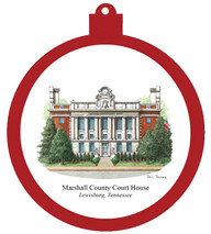 PP -Ornament Marshall County Court House