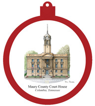 PP -Ornament Maury County Court House