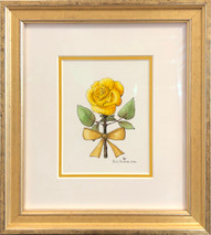 Yellow rose original 10x11
