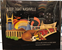"A truly unique and remarkable city, Nashville has so much to offer for kids and grownups of all ages. Put on your bedtime boots and follow Banjo the mischievous pup through his scrapbook of adventures as he discovers our beloved ""Music City."" From studios to sports teams and bright lights to belly flops...this dog does it all. Pretend you are Banjo while you read the story and don't forget to find all the music notes along the way!"