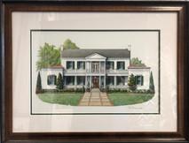 Belle air mansion original 28 x 21 - NEW
