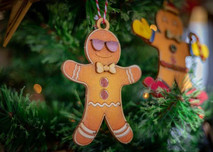 Gingerbread Man 5 Inches Tall and 3 inches wide