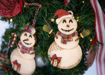 1a. DYI Christmas Ornaments Kit - Snowman