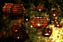 Firefly Luminairies. Wooden lantern kits for tealights