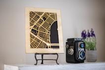 US City Map, New Orleans, LA