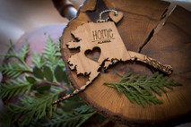 z State Key Chains, Name & Gift Tags - Alaska