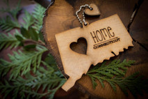 z State Key Chains, Name & Gift Tags - Connecticut