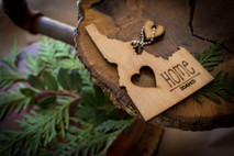 z State Key Chains, Name & Gift Tags - Idaho