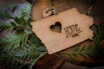 z State Key Chains, Name & Gift Tags - Iowa