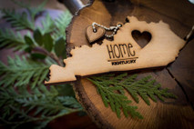 z State Key Chains, Name & Gift Tags - Kentucky